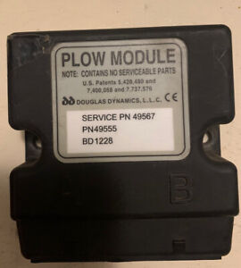 Western Snowex Part 49567 2 Port Isolation Plow Module Plow Side