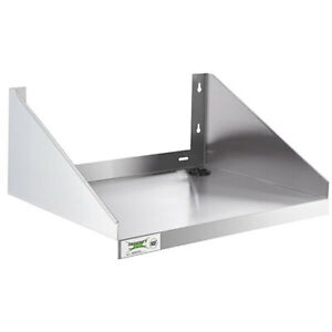 Regency 24 X 18 Stainless Steel Microwave Kitchen Shelf