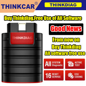 2021 New Thinkdiag Obd2 Scanner Bidirectional Diagnostic Tool Full Software Free