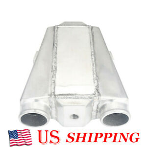 11 x9 5 x3 5 Bar Plate Water To Air Intercooler 2 5 Air In outlet Universal