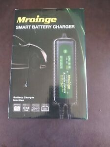 Mroinge Mbc020 Automotive Trickle Smart Battery Charger Maintainer 12v Automatic