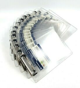 Lot Of 14 New Saunders 00516 5 1 2 X 8 1 2 Clipboard Clear