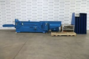 American H 15 60 15 Ton X 60 Hydraulic Horizontal Broaching Machine W Tooling