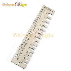 Wire Guage Measurement Sheet Metal Guage Tool Thickness Inspection Tool Wg 003
