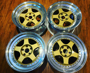18 oz Racing Pegasus Newly Rebuild Staggered 5x114 3 Acura Nsx