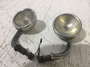 Pair Original 1930 1931 Model A Ford Cowl Lights