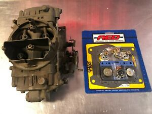 Holley 4165 650 Spreadbore Carb List 6210 3 W Aed Kit Free Shipping