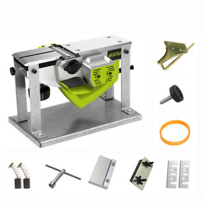 220v Electric Wood Planer Portable Desktop Woodworking Carpentry Planer 1000w
