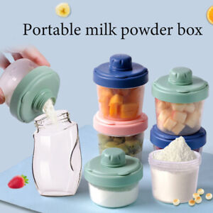 Milk Powder Dispenser Multi Layers Travel Baby Food Dosing Box Large Capacity