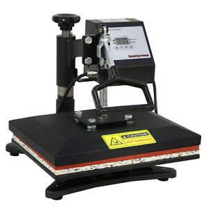 USED 360° T Shirt Heat Press Sublimation Transfer Machine 12quot; x 10quot; Swing Away $66.99