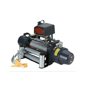Vi Universal Tds 8 5 8500lb Pound Electric Recovery Winch 12v Steel Cable Rope