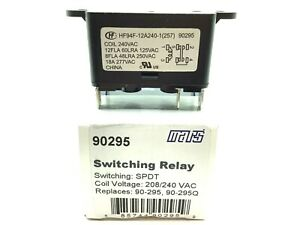 90295 Mars Switching Relay 208 240 Volt Coil Replace 90 295 90 295q