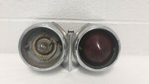 1957 Cadillac 62 Series Convertible Driver s Side Gas Filler Tail Light Oem