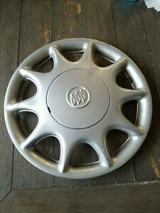 1997 To 2003 Buick Century Oem Bolt On Hubcap Wheel Cover Silver 9594867