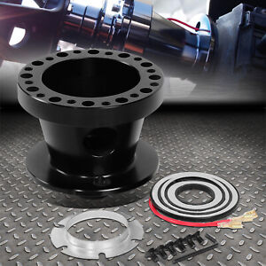 For 84 04 Mustang Ranger Thunderbird Black Steering Wheel Hub Adapter Boss Kit