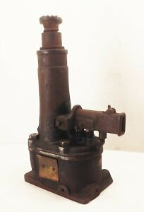 Vtg Antique Walker 832 Series A 7 Ton Hydraulic Bottle Jack Ford A T Car Tool