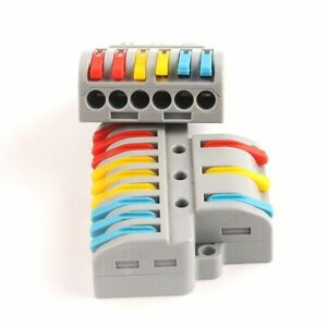 Quick Wire Connector Pct Spl Universal Push in Conductor Terminal Block Splitter