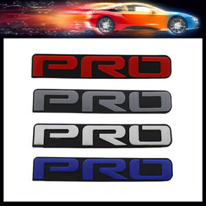 Pro For Tacoma 4runner Tundra Off Road Trd Front Car Grille Grill Emblem Badge