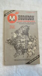 Hodgdon basic data manual reloading pamphlet complementary copy 1983 $5.00