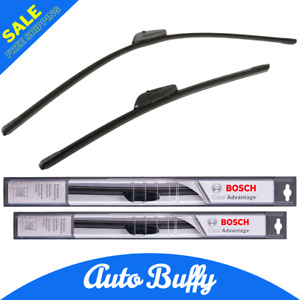 16 26 Bosch Clear Advantage Beam Wiper Blades Front Left Front Right