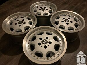 Vector 16x8 5x114 3 Wheels Rims Jdm Rare Vintage Ssr Work Weds Rays
