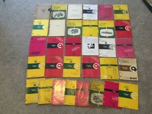 Lot Of 30 John Deere Tractor implement Operator s And Parts Manuals
