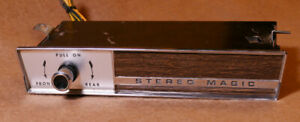 Tenna Stereo Magic Reverb Unit For Your Vintage Muscle Car Restoration