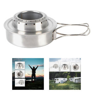 Portable Alcohol Stove Outdoor Backpackers Mini Spirit Burner For Camping