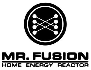 Mr Home Fusion Sticker Vinyl Decal Back To The Future Doc Brown Marty Mcfly