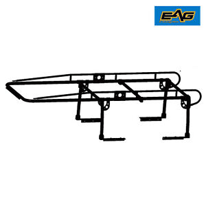 Eag Steel Adjustable Truck Contractor Ladder Rack Pick Up Lumber Kayak Utility