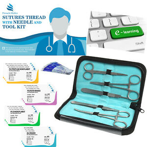 Essential Suture Practice Kit For Medical Student Suture Training Suture Kit