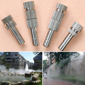 10pcs Spray Hose Spray Head Irrigation Mist Nozzles Lawn Misting Plant Watering