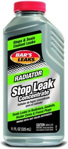 Bar s Leaks 1196 Radiator Stop Leak 11 Oz Grey