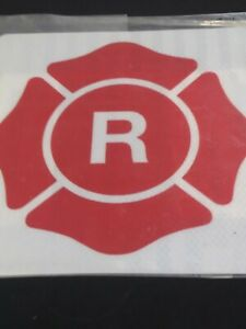 Fire Fighting Roof Truss Warning Signs