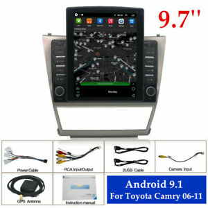 For Toyota Camry 2006 2011 9 7 1 16gb Android 9 1 Car Stereo Radio Gps Player