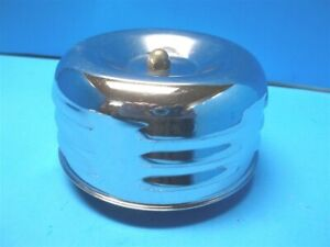 Vintage Cal Custom Louvered 2bbl Air Cleaner ford Hot Rod 1960 s