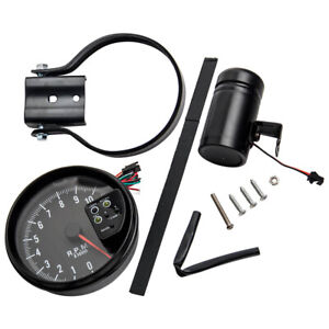 5 Inch Car Rpm 11000k Tachometer Gauge 7 Color Backlight Rpm Led Shift Light 12v