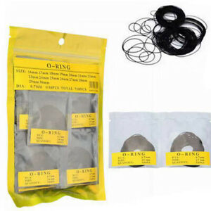 O ring Gasket Kit Diy Watches Back Case Durable Replacement Waterproof Washer