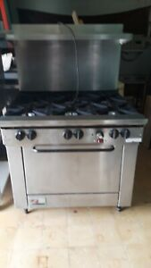 Used Commercial Gas Ranges With Convection Oven