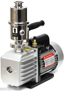 Ai Easyvac 7 Cfm Vacuum Pump W Filter For Vo Vacuum Oven 110v 220v Switchable