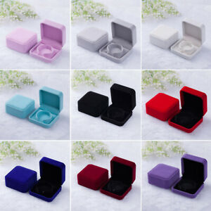 Decoration Jewelry Box Ring Flannelette Home Gifts Storage Case Bracelet Travel