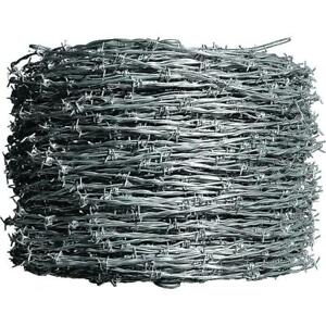 Farmgard Barbed Wire 1 320 Ft 12 1 2 Gauge 4 point Class I Galvanized
