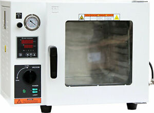 Ai Eco 0 9 Cu Ft Vacuum Drying Oven With Led Lights Pump Not Included