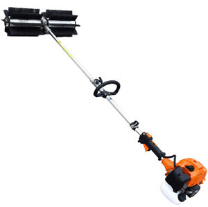 Petrol Sweeper Cleaning Embc520 2 Erman Combustion Sweeper Practical Powerful