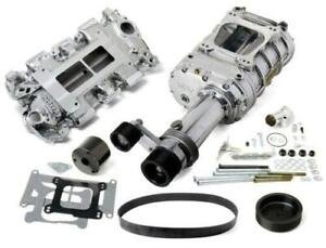 Weiand 7750 1 144 Pro Street Supercharger Kit Chevy Small Block Low Profile