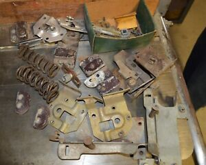 1940 1941 Lincoln Door And Windown Mechanism Parts