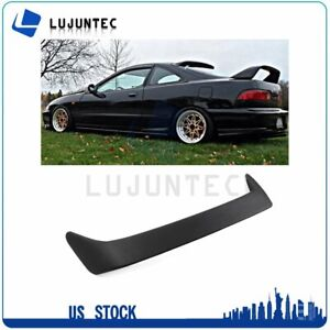 For 1994 2001 Acura Integra Hatchback Unpainted Black Wing Spoiler Abs