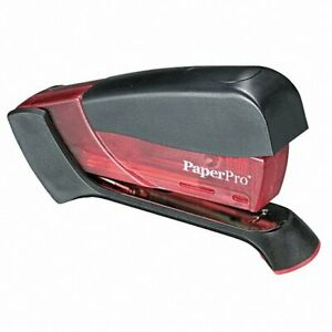 Accentra Paperpro Standard One Finger Compact Stapler 15 Sheet Power Pink