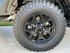 17 Jeep Gladiator Willys 2021 Oem Wheels And Tires Not Inc Tpms Quantity 4