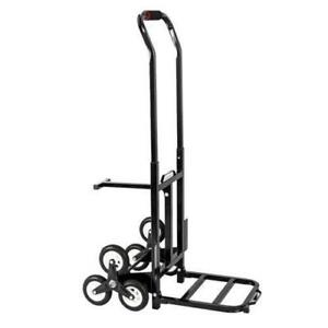 330 Lbs Heavy Duty Stair Climbing Moving Dolly Hand Truck Warehouse Cart